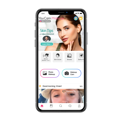 Perfect Corp. partners with Dr. Emer for a digital AI skin care diagnostic experience (Photo: Business Wire)