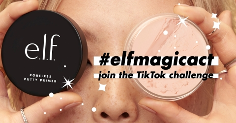 e.l.f. Cosmetics invites every eye, lip and face to join the #elfMagicAct TikTok challenge (Photo: Business Wire)