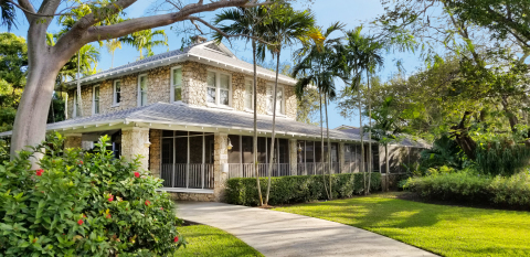 Historic Fairholm home for sale in Miami (Photo: Business Wire)