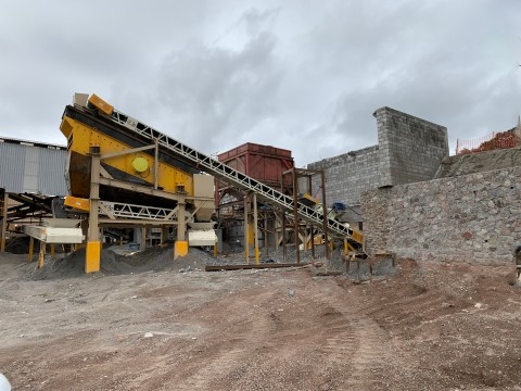 Crushing Circuit at Mal Paso Mill (Photo: Business Wire)