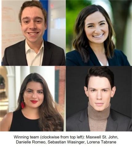 U.S. Innovation Challenge Winning Team (Photo: Business Wire)
