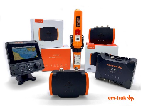 em-trak AIS transceivers ideal for any leisure or commercial vessel (Photo: Business Wire)