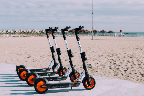 Helbiz Enters Pescara as the City's First and Only Micro-Mobility Operator (Photo: Business Wire)