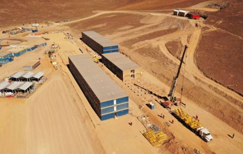 Fluor is providing engineering, procurement and construction management services for the project located in the Atacama region of northern Chile about 14,000 feet above sea level. (Photo: Business Wire)