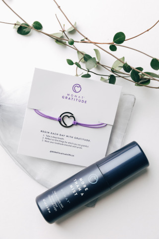 100% of sales from MONAT's Grateful Every Day Set was donated to nonprofits around the world in support of veterans and first responders (Photo: Business Wire)