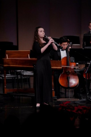Wilshire Quinn Capital, Inc.'s 2020 Musical Arts Scholarship Winner Aviana Gedler (Photo: Business Wire)