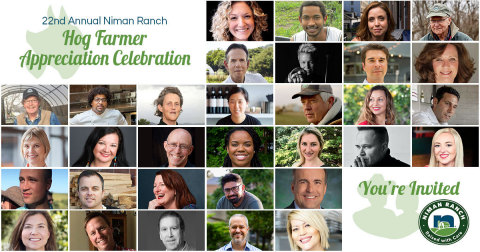 Niman Ranch, the premier sustainable and humane meat leader, will be celebrating their network of independent family farmers and the sustainable agriculture community with a series of virtual events from August 5th to September 11th. (Graphic: Business Wire)