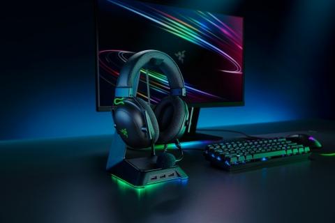 The new Razer BlackShark V2 esports headset with THX® Spatial Audio's new Game Profiles. (Photo: Business Wire)
