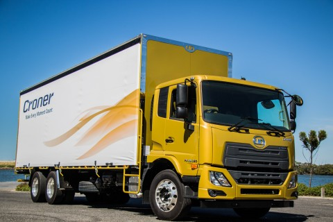 All of UD Truck's newly introduced Croner medium-duty range in Australia are equipped with the Allison 3000 SeriesTM automatic transmission, a factor that has attracted Australia's largest registered transport fleet, Australia Post. (Photo: Business Wire)