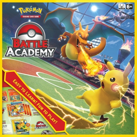 Battle Academy reimagines strategic Pokémon Trading Card Game gameplay as an easy-to-learn and fun-to-play experience for the whole family in a classic board-game format. (Photo: Business Wire)