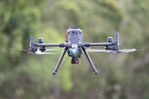Emesent's Autonomy Level 2 (AL2) technology for Hovermap uses Velodyne's lidar sensors to provide real-time perception and high-quality, accurate 3D data. (Photo: Emesent)