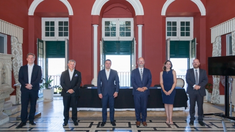Boosting Investment in R&I: €100,000 donation by kENUP Foundation to Malta's COVID-19 R&D Fund (Photo: Business Wire)