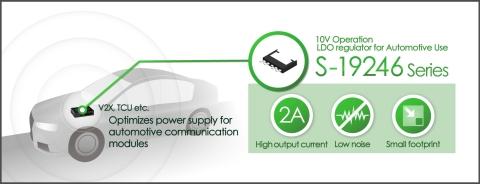 S-19246-Series, 10V Betrieb & LDO-Regler für den Automobilbereich (Grafik: Business Wire)