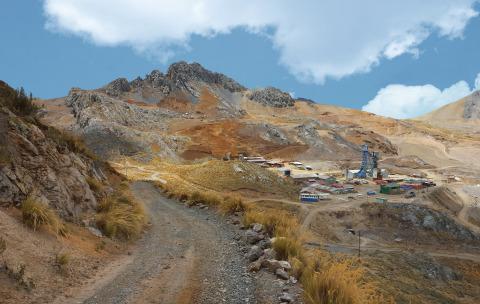 Yauricocha Mine, Peru (Photo: Business Wire)