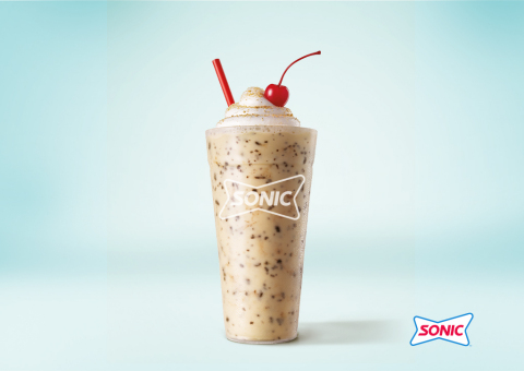SONIC® Drive-In perfectly captures sitting by the campfire and toasting marshmallows with the launch of the new Toasted S'mores Shake. (Photo: Business Wire)