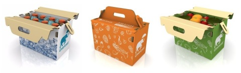 DS Smith's 100% recyclable Greencoat coolers (Photo: DS Smith)