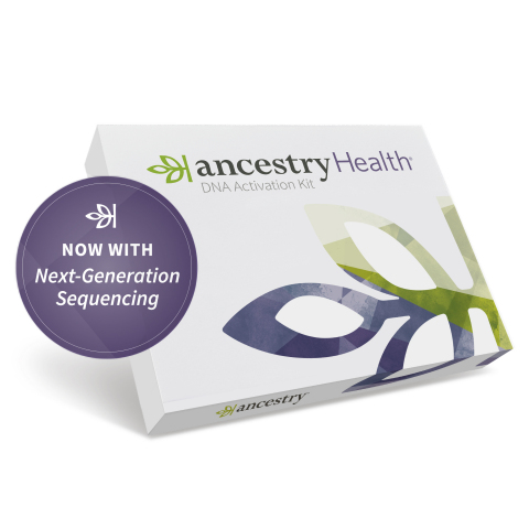 AncestryHealth powered by NGS (Graphic: Business Wire)