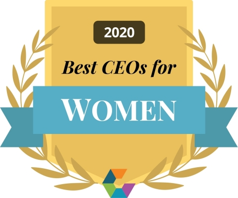 Comparably 2020 - Best CEO for Women
