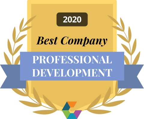 Comparably 2020 - Best Professional Development