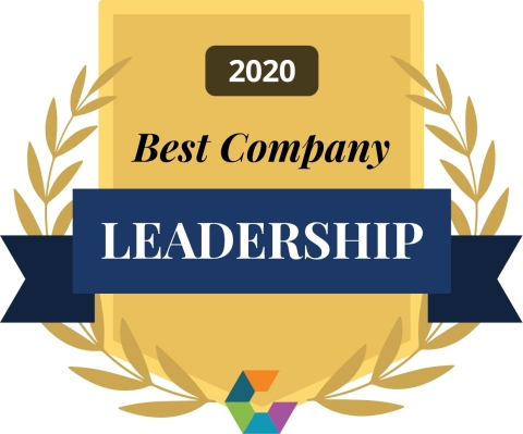 Comparably 2020 - Best Leadership Team