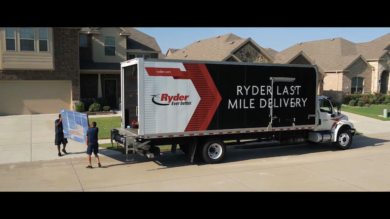 "Ryder launches new brand awareness campaign ""Ever better™ World of Logistics,"" highlighting the company's supply chain solutions which keep goods ever-moving to meet ever-escalating consumer demands."