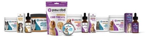 Paw CBD product portfolio (Photo: Business Wire)