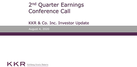 KKR Q2'20 Supplemental Operating & Financial Data