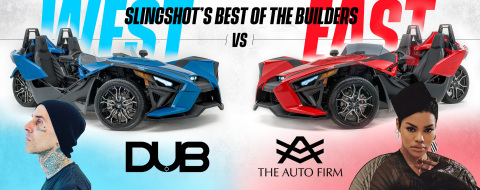 Slingshot's Best of the Builders: East vs West (Photo: Business Wire)