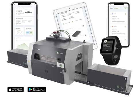 ExOne Scout is a new app for real-time monitoring and analysis of the company's production sand and metal 3D printers. It pushes notifications to smart devices and is a key step in the company's strategy to surround its 3D printers with a complete digital workflow supported by automation, software and AI. (Photo: Business Wire)