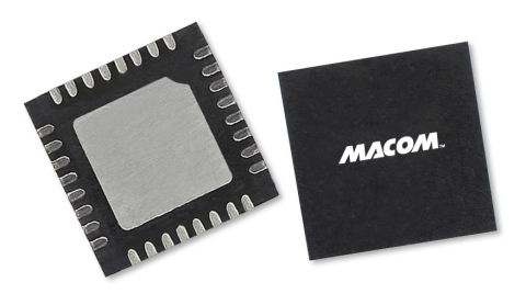 The MAAP-011313 can be used as a power amplifier stage or as a driver stage in higher power applications. This device is ideally suited for linear Ku-band VSAT and point-to-point radio applications. (Photo: Business Wire)