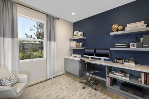 KB Home debuts new home office concept designed to meet the needs of today's homeowners. (Photo: Business Wire)