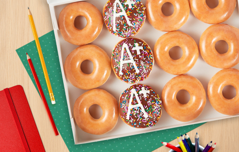"Krispy Kreme introduces Educator Appreciation Week to ""A""cknowledge all educators helping make this schoolyear possible. (Photo: Business Wire)"