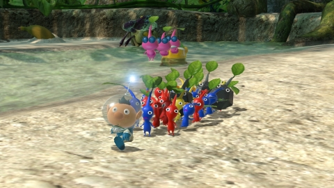 Clear a landing zone, because the Pikmin 3 Deluxe game is headed to the Nintendo Switch family of systems on Oct. 30. (Photo: Business Wire)