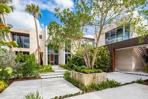 MV Group USA - New Construction $20 Million Bayfront Residence - Miami, Florida Custom Built by MV Group USA (Photo: Business Wire)
