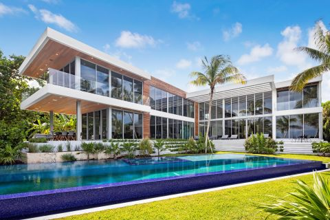 MV Group USA - Custom Built Bayfront residence Miami, Florida (Photo: Business Wire)