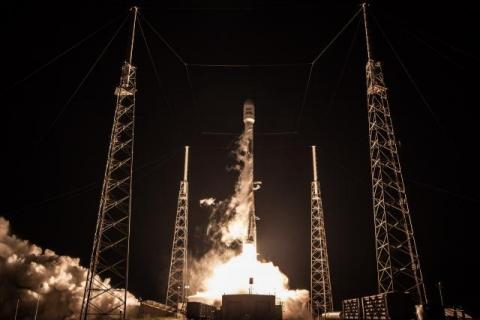 Credit: SpaceX / Previous Falcon 9 launch