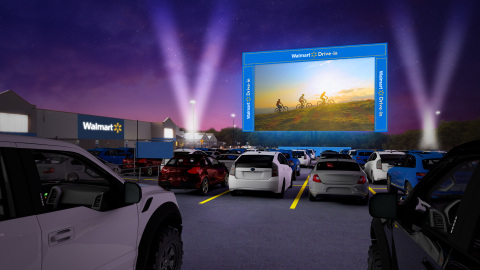 Walmart Drive-in (Photo: Business Wire)
