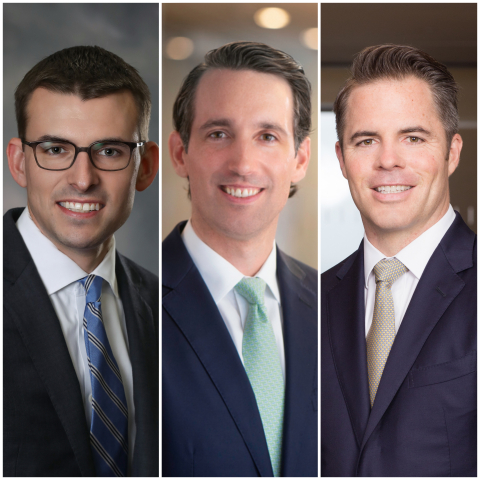Sam Sinclair, Matthew Bechtel and Peter Farrington. Source: UBS.