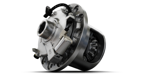 Eaton's InfiniTrac™ electronically controlled, limited-slip differential provides optimized vehicle performance at any speed and traction condition. (Photo: Business Wire)