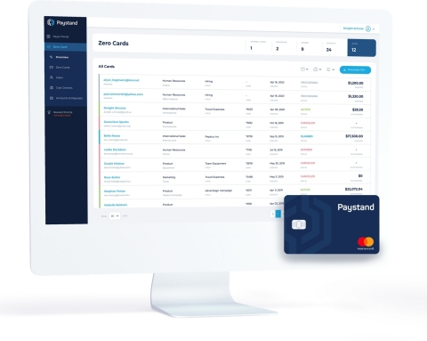The Paystand Zero Card is the first corporate card with no-fee payment options for businesses. (Photo: Business Wire)