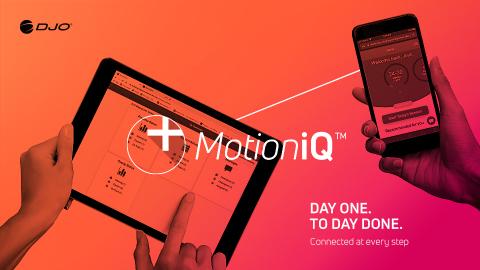 DJO Motion iQ Patient Engagement Platform (Graphic: Business Wire)