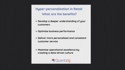 Hyper-personalization aims to bring together customer data, machine learning, and analytics to embrace personalization.