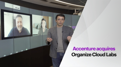 Accenture acquires Organize Cloud Labs (Photo: Business Wire)