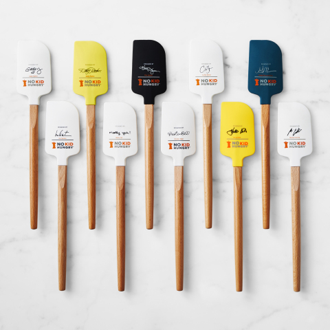 Signed Celebrity Spatulas Benefiting No Kid Hungry Available Now at Williams Sonoma (Photo: Business Wire).