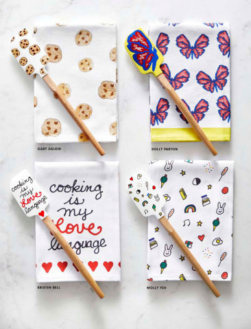 Celebrity Designed Tea Towels Benefiting No Kid Hungry Available Now at Williams Sonoma (Photo: Business Wire).