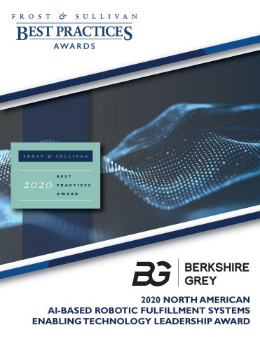 Frost & Sullivan Report on Berkshire Grey - Robotic Automation Solutions (Photo: Business Wire)
