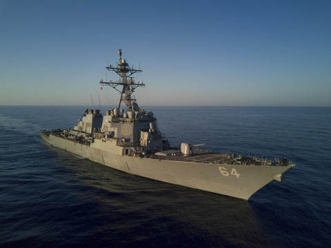 BAE Systems will modernize the guided-missile destroyers USS Carney (DDG 64) and USS Winston S. Churchill (DDG 81) at its shipyard in Jacksonville, Florida. (Photo credit: BAE Systems)