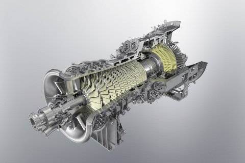MHPS leads in global market share by capacity for heavy duty gas turbines in the first half of 2020 per McCoy Power Reports. MHPS' J-Series gas turbines are unrivaled in combined efficiency and reliability. Shown: Rendering of MHPS' JAC gas turbine rotor. (Photo: Business Wire)