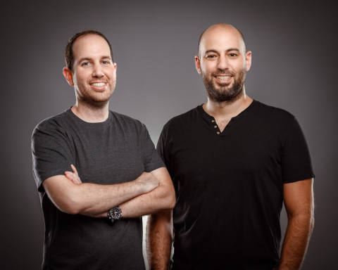 Adaptive Shield Co-founders Maor Bin, CEO (l.) and Jony Shlomoff, CTO (r.). Adaptive Shield today emerged from stealth with $4 million in seed funding from Vertex Ventures Israel to automate complete control of SaaS application security. Photo credit: Doron Letzter