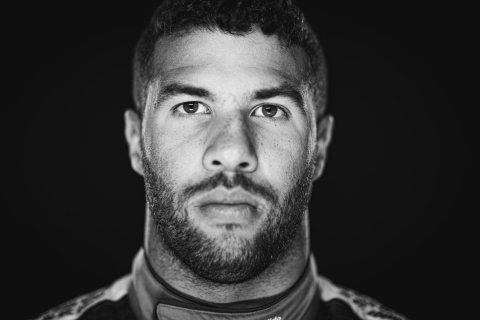Bubba Wallace will drive the Columbia No. 43 car at the Dover International Speedway on August 23rd. (Photo: Business Wire)